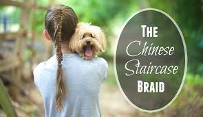chinese staircase braid back to hairstyles youtube