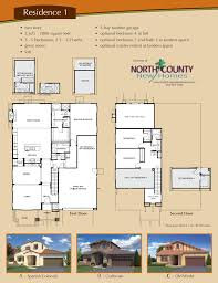 homes for sale with floor plans altaire floor plan 1 new homes for sale in san elijo