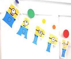 minion birthday party invites minion birthday party banner minions party decor minion