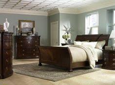 THE FURNITURE  Dark Brown Traditional Style Bedroom Set - Dark furniture bedroom ideas