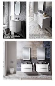the new curvaceous svelte bathroom bathroom furniture collection