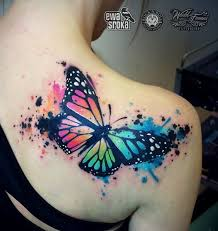 15 watercolor tattoos for females pretty designs