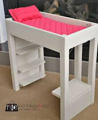 how to make american girl doll bed diy american girl doll furniture