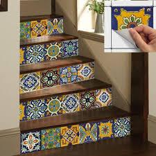 tile decals for kitchen backsplash kitchen paving pattern tiles stickers set of 4 tile decals il