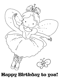 28 happy birthday coloring pages images