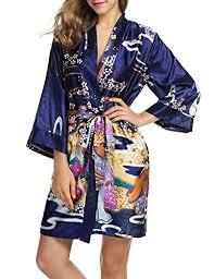 femme de chambre wiki hotouch femme robe de chambre en satin pyjama kimono imprimé