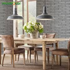 wallpaper for kitchens modern aliexpress com buy modern pvc self adhesive wallpaper brick wall