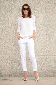 All White Attire For 5 Ways To Wear White This Summer The Fashion Tag