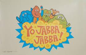 yo jabba jabba u201d print chris maghintay yo gabba gabba parody