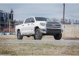 toyota tundra lifted 23031 rough country 3 inch leveling lift kit for the toyota tundra