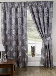 Patterned Blackout Curtains Patterned Blackout Curtains Uk Home Design Ideas