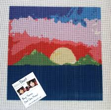 easy to stitch 10 mesh needlepoint canvases needlepoint kits and