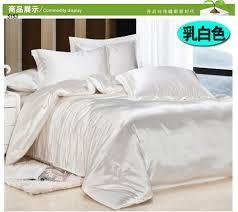 Silk Duvet Set Online Shop Grey Silk Bedding Sets Pink Satin Linen Tencel Silk
