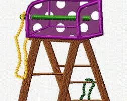 mardi gras ladders mardi gras ladder etsy