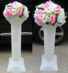 wholesale wedding decorations wedding road lead column wedding decoration plastic pillars