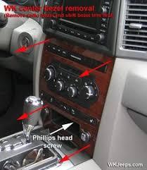 2005 Grand Cherokee Interior Jeep Grand Cherokee Wk Interior Trim Removal Truck Pinterest