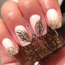 55 most stylish feather nail art designs