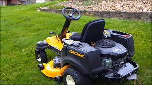 cub cadet rzt s with striper demonstration and review youtube