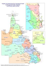 Map Of East Coast States by Hospital And Health Service Maps Queensland Health