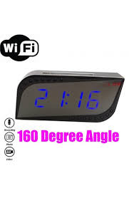 horloge de bureau horloge 720p wifi vision nocturne