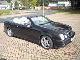 convertible mercedes black mercedes clk convertible in black with grey leather interior in