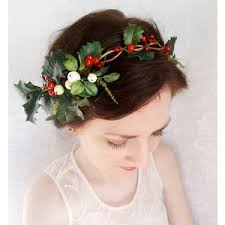 christmas hair accessories flower hair polyvore