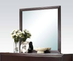 Upholstered Headboard Bedroom Sets Ajay Panel Bedroom Set With Upholstered Headboard In Espresso