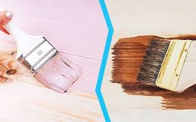 is it better to paint or stain your kitchen cabinets on the fence painting or staining maintain your property