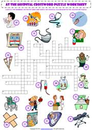 hospital vocabulary esl printable worksheets and exercises