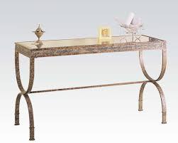 acme furniture egyptian console table ac08633