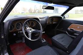 1969 Ford Mustang Interior Mustang Mach 1 1969 Ford Mach 1