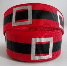 santa belt ribbon santa belt 7 8 grosgrain ribbon only 89p for scrapbooking and