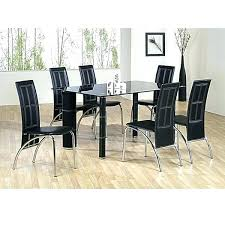Glass Dining Table For 6 Glass Dining Table Sets Image For Dining Table Chairs