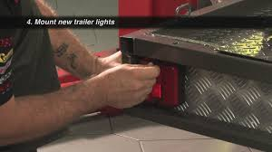 replacing trailer wiring and lights supercheap auto