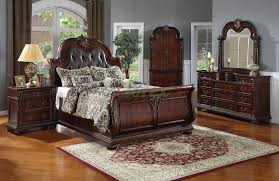Black Leather Headboard Bedroom Set Leather Headboard Bedroom Set Black Faux Furniture Platform With