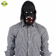 party city halloween photo props popular gorilla mask buy cheap gorilla mask lots from china