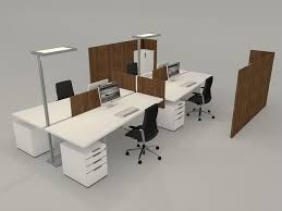 Office Desk Items 3d Model Office Desk With Accessories Cgtrader