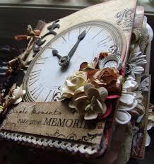 vintage scrapbook album scrapn4mygirlz vintage timepiece premade scrapbook album