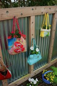 Backyard Fence Decorating Ideas Ideas For Decorating Your Garden Fence Backyard Fence Decor In