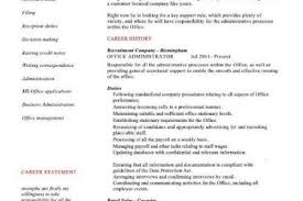 Admin Resume Objective Examples by Career Objective Examples Admin Assistant
