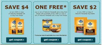 Printable Nature S Recipe Dog Food Coupons | nature s recipe pet food printable coupons