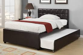 Trundle Bed With Bookcase Headboard Bedding Extraordinary Queen Trundle Bed