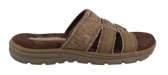 men u0027s skechers supreme glade slide sandal mens shoes peltz shoes