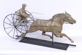 Horse Weathervane On Stand Featured Lots Taxonomy Weathervane U2013 Copake Auction Inc