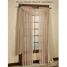 sheer curtain panels with valance integralbook com