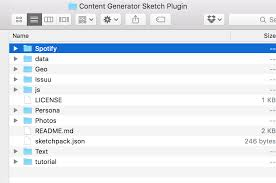 how to hack the sketch content generator plugin to use your own
