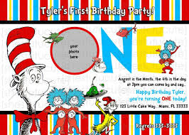 free printable dr seuss birthday invitations image collections