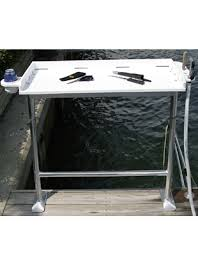 Dock Mount Fish Cleaning Table Birdsall Marine Design - Fish cleaning table design