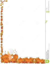 free pumpkin border clip art u2013 fun for halloween