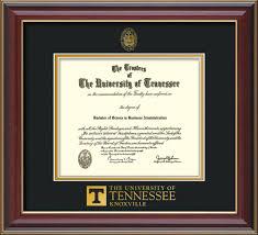 diploma framing of tennessee diploma frame rosewood utk seal